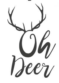Motiv #009 - deer