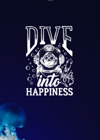 Motiv #010 - dive-into-happiness