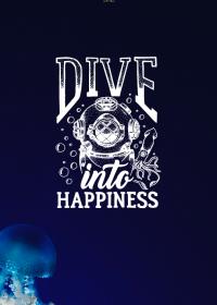 Motiv #010 - dive-into-happiness