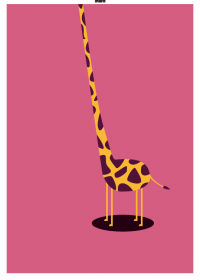 Motiv #021 - giraffe-hals