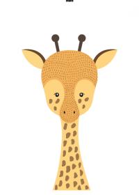 Motiv #020 - giraffe