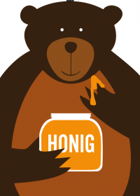 Motiv #030 - honig-baer