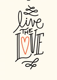 Motiv #033 - live-the-love