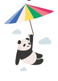 Motiv #105 - panda
