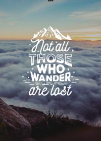 Motiv #072 - those-who-wander