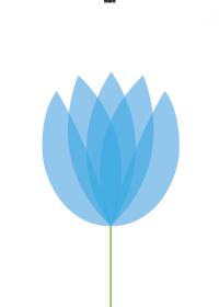 Motiv #077 - tulpe-blau
