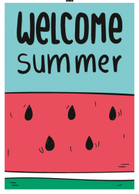 Motiv #085 - welcome-summer